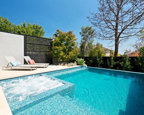 Fotos de piscinas dise os de piscinas rectangulares con for Piscinas rectangulares