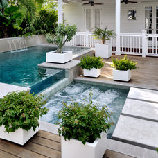 Tropical Pool by Craig Reynolds Landscape Architecture