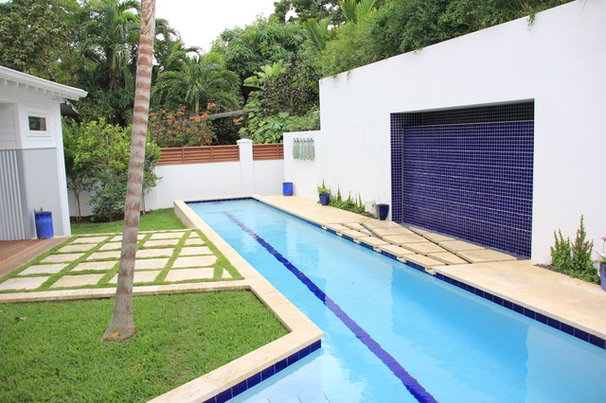 Tropical Pool by Ashley Cole Design