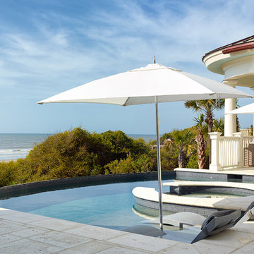 Kiawah Classic updated Shingle Style oceanfront home