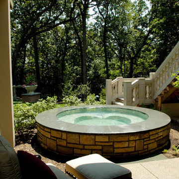 Kildeer, IL Custom Hot Tub