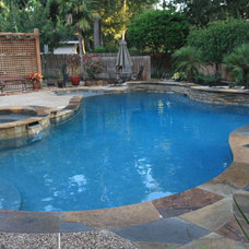 Traditional Pool by Kirsch Landscape & Design