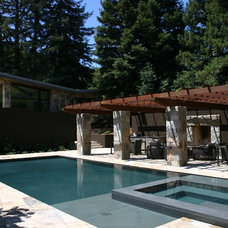 Contemporary Exterior by Aquatic Technology Pool and Spa