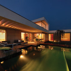 Contemporary Pool by 3AD Architect Office