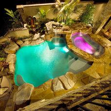 Mediterranean Pool by Gentili Custom Pools