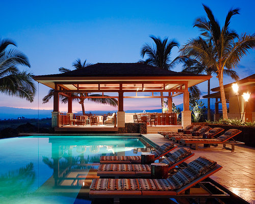 Tropical hawaii pool design ideas pictures remodel decor for Pool design hawaii