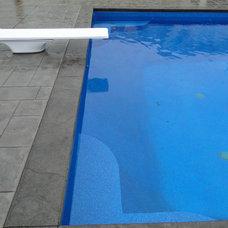 Modern Pool by Waterworks Pools & Spas