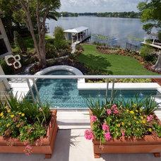 Tropical Pool by Phil Kean Design Group