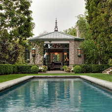 Traditional Pool by Lewis / Schoeplein architects