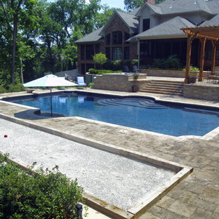 Ladue Outdoor Kitchen and Swimming Pool