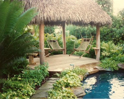 Hut pool design ideas renovations photos for Pool hut designs
