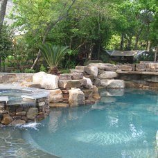 Eclectic Pool by GreenTex Builders LLC