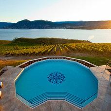 Mediterranean Pool by Barnett Construction Ltd.