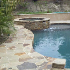 Tropical Pool by Aqua-Link Pools and Spas