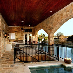 traditional pool by Zbranek & Holt Custom Homes