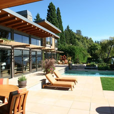 Contemporary Patio by McClellan Architects