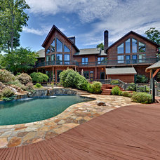 Rustic Pool by Envision Web