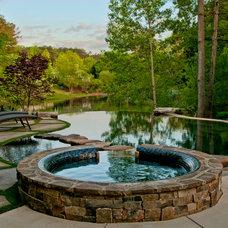Traditional Pool by Shane LeBlanc Designs