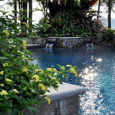 Eclectic Pool by Bruce Clodfelter and Associates