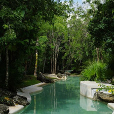 Mediterranean Pool by Sunshine Realty Cancun
