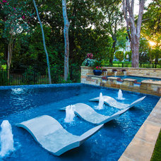 Contemporary Pool by AquaTerra Outdoors