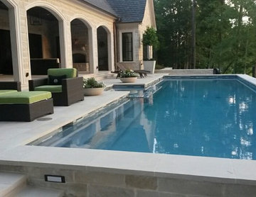 Landscape and Pool Construction - Stonegate - Tyler, Texas