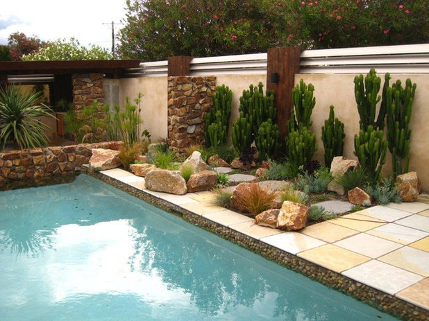 Contemporary Pool by imagine design & construction pty ltd
