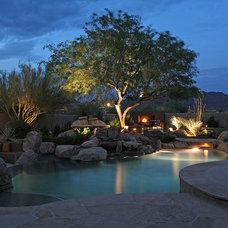 Contemporary Pool by Desertdesigner