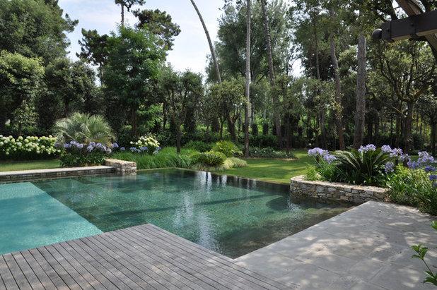 E se lo stile country fosse tutto italiano - Piante per bordo piscina ...