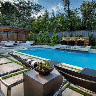 Lansdowne Modern Swimming Pool + Outdoor Living