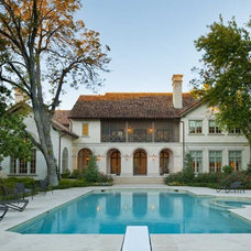 Mediterranean Pool by Institute of Classical Architecture & Art - Texas
