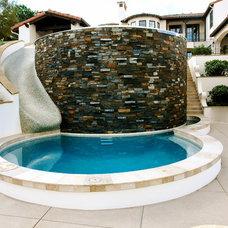 Mediterranean Pool by DeMaria Landtech Inc