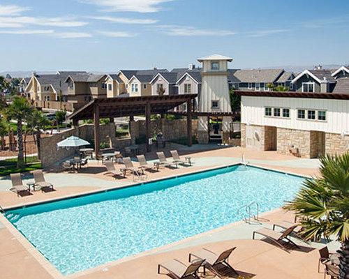 Farmhouse San Luis Obispo Pool Design Ideas Remodels Photos