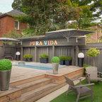 Pool House - Beach Style - Pool - Toronto - by LemonTree & Co. Interiors