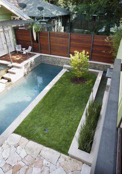 Contemporary Pool by Loop Design