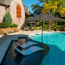 Traditional Pool by Ledge Lounger LLC