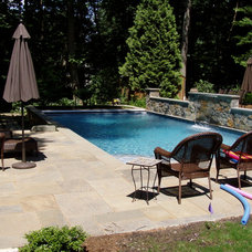 Traditional Pool by JoPa Company