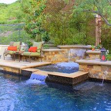 Mediterranean Pool by Creative Atmospheres, Inc.