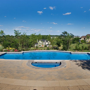 Leesburg Beacon Hill Pool Landscape