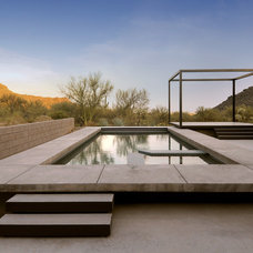 Contemporary Pool by Process Design Build, L.L.C.