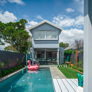 Photo of a contemporary pool in Sydney.