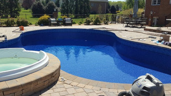 Liner Replacement in a Freeform Shaped Pool