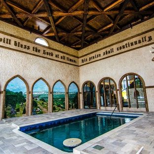 Photo of a traditional pool in Dallas.