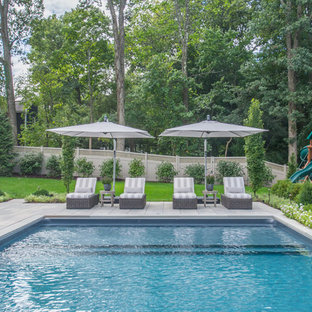 Example of a pool design in New York