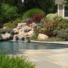 traditional pool by Landscape Techniques Inc