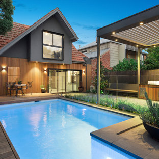 Design ideas for a victorian pool in Melbourne.
