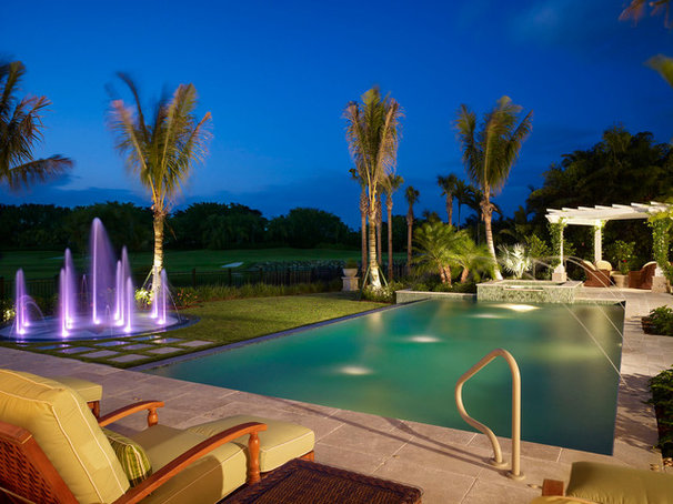 Tropical Pool by London Bay Homes