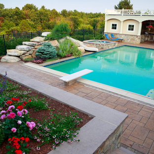 Londonderry, NH Pool, Patio & Outdoor Kitchen Design and Build