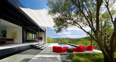 Modern Pool by Marmol Radziner