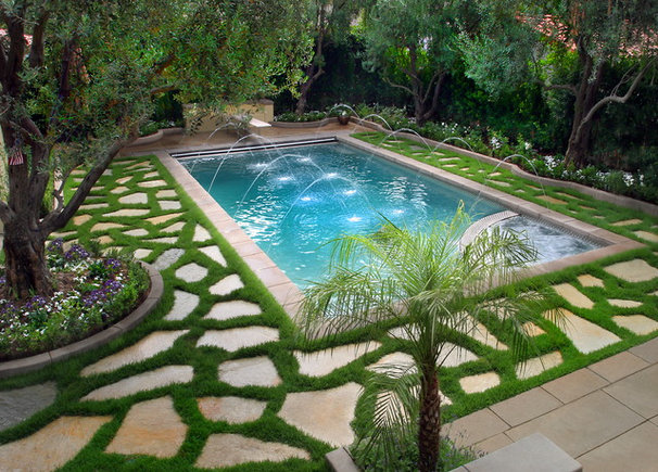 Traditional Pool by Longmire Photography